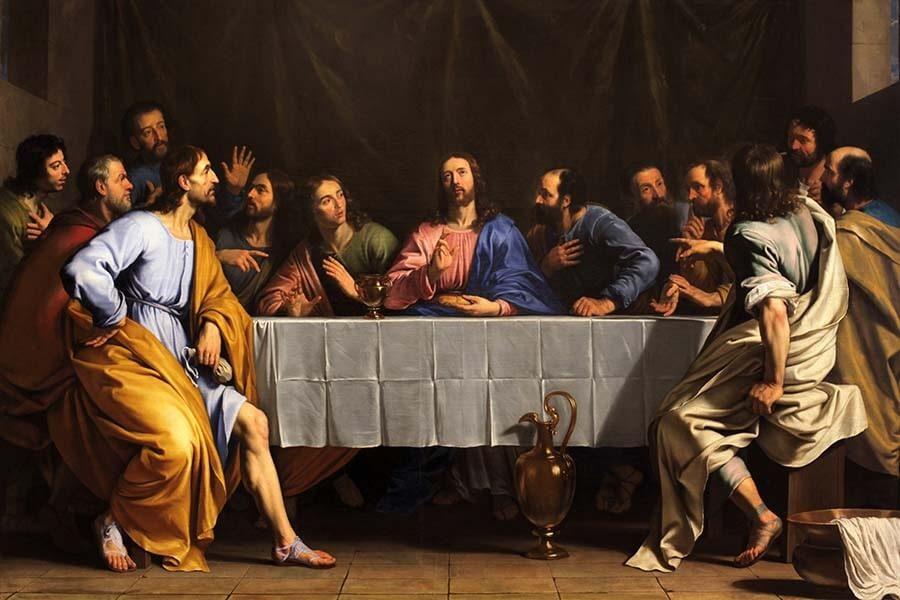 Fototapeta Ostatnia Wieczerza - Philippe de Champaigne - obraz na płótnie